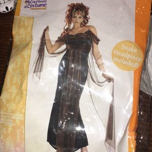 gorgeous MEDUSA halloween costume XL 12/14